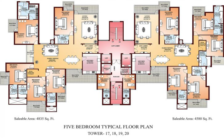 Home Design Charming Apartment Plan