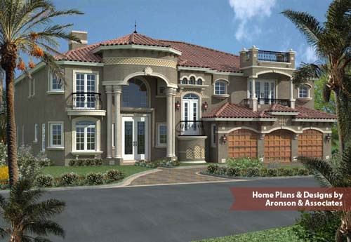 Home Design Luxury Two Story Plans