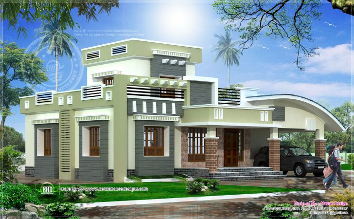 Home Design Sqfeet Storey Indian House Plans