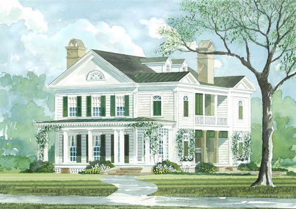 Home Plans Design Southern Living Cottage House