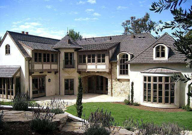 Homes Palos Verdes French Country Rolling Hills