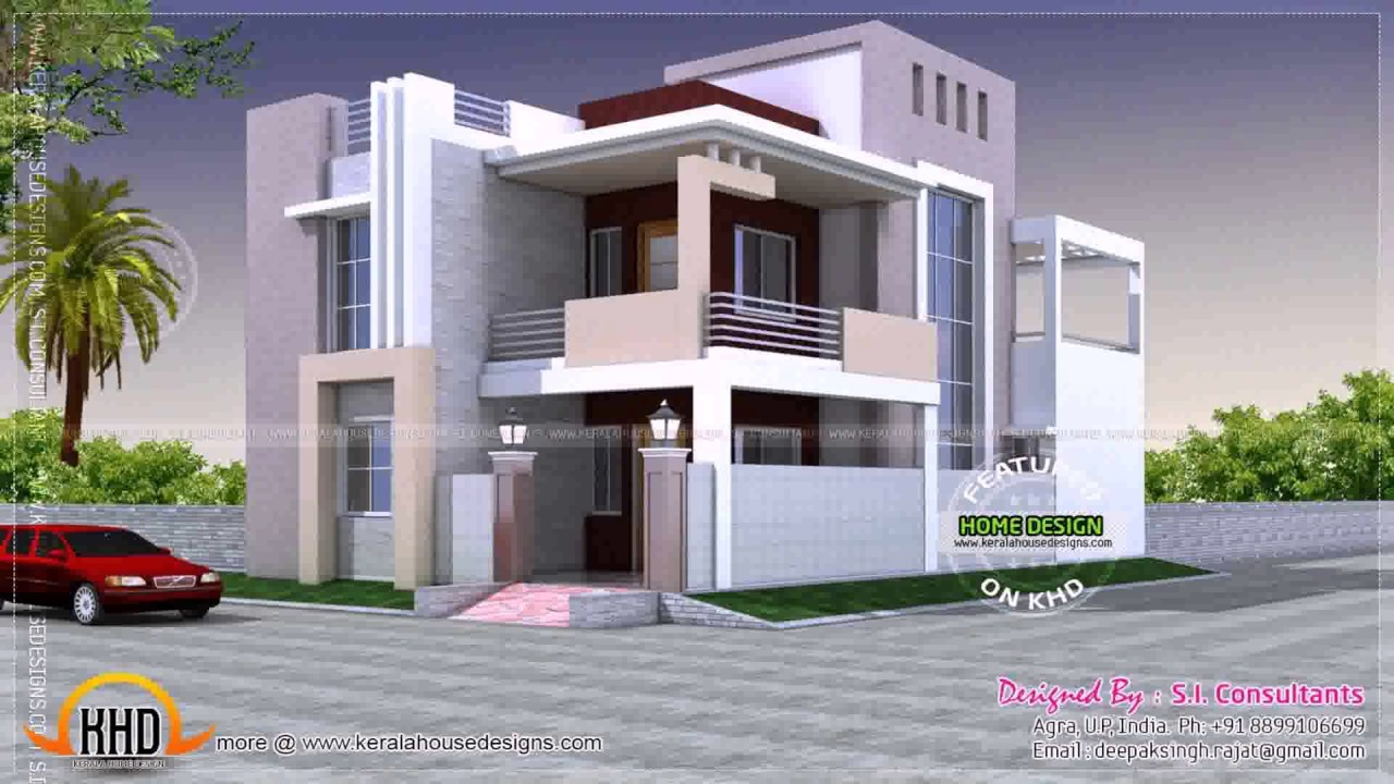 House Design Indian Style Plan Elevation Youtube
