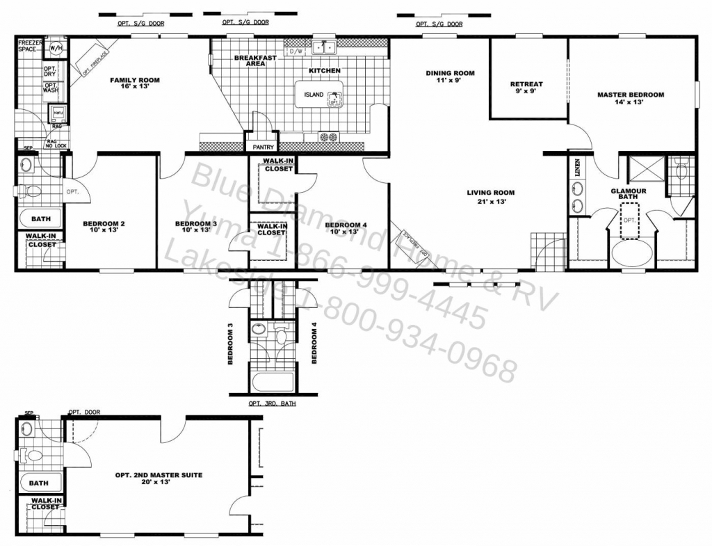 House Floor Plans Two Master Also Bedrooms