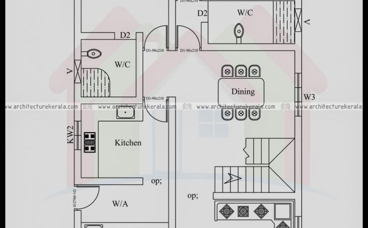 House Plan Bedrooms Architecture Kerala
