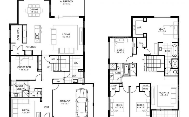 House Plans Bedrooms Numberedtype