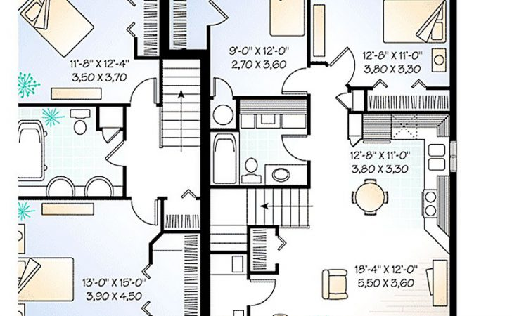 House Plans Inlaw Apartment Attached Numberedtype