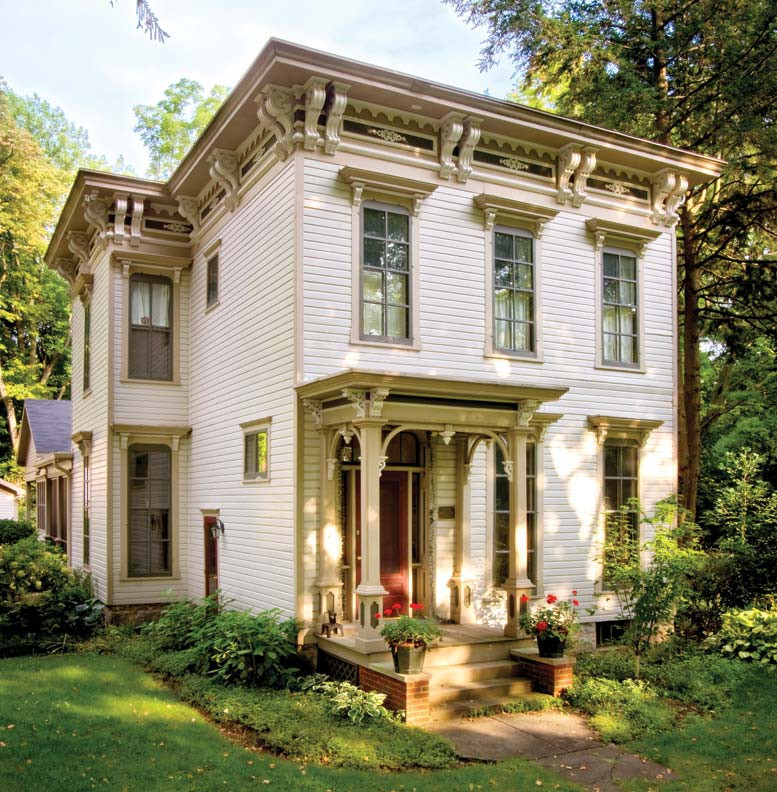 Italianate Style Architecture Features
