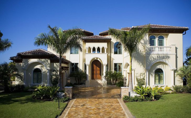 Mediterranean Estate Home Design Remodeling Ideas