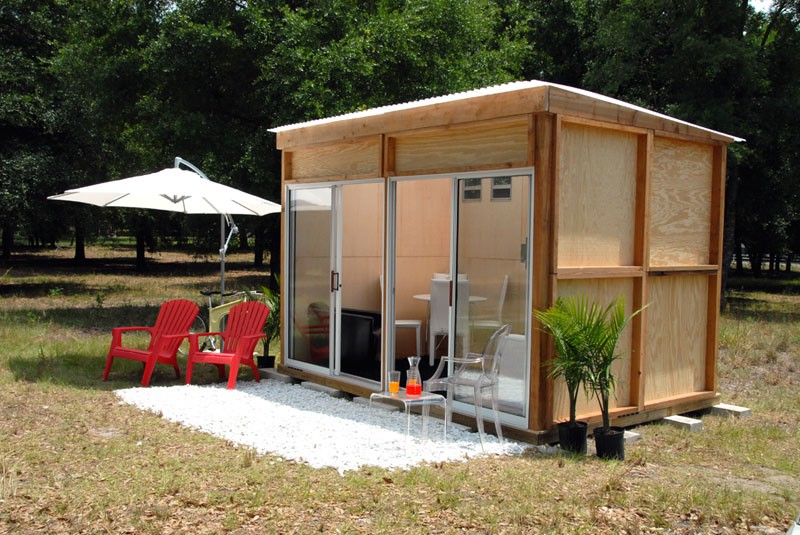 Modern Backyard Shed Designs Blueprints