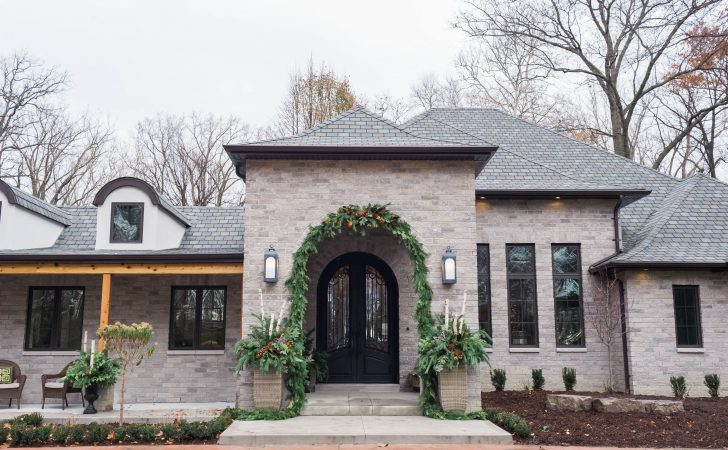 Modern French Country Exterior Renovation Part