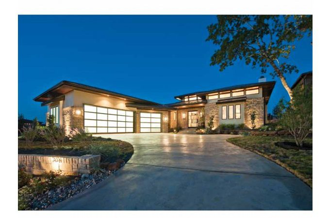Modern Hill Country House Plans Cottage