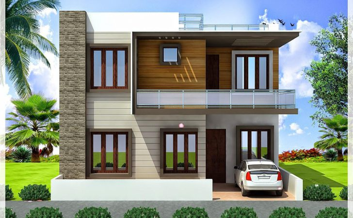 Modern House Plans Bedroom Indian Style