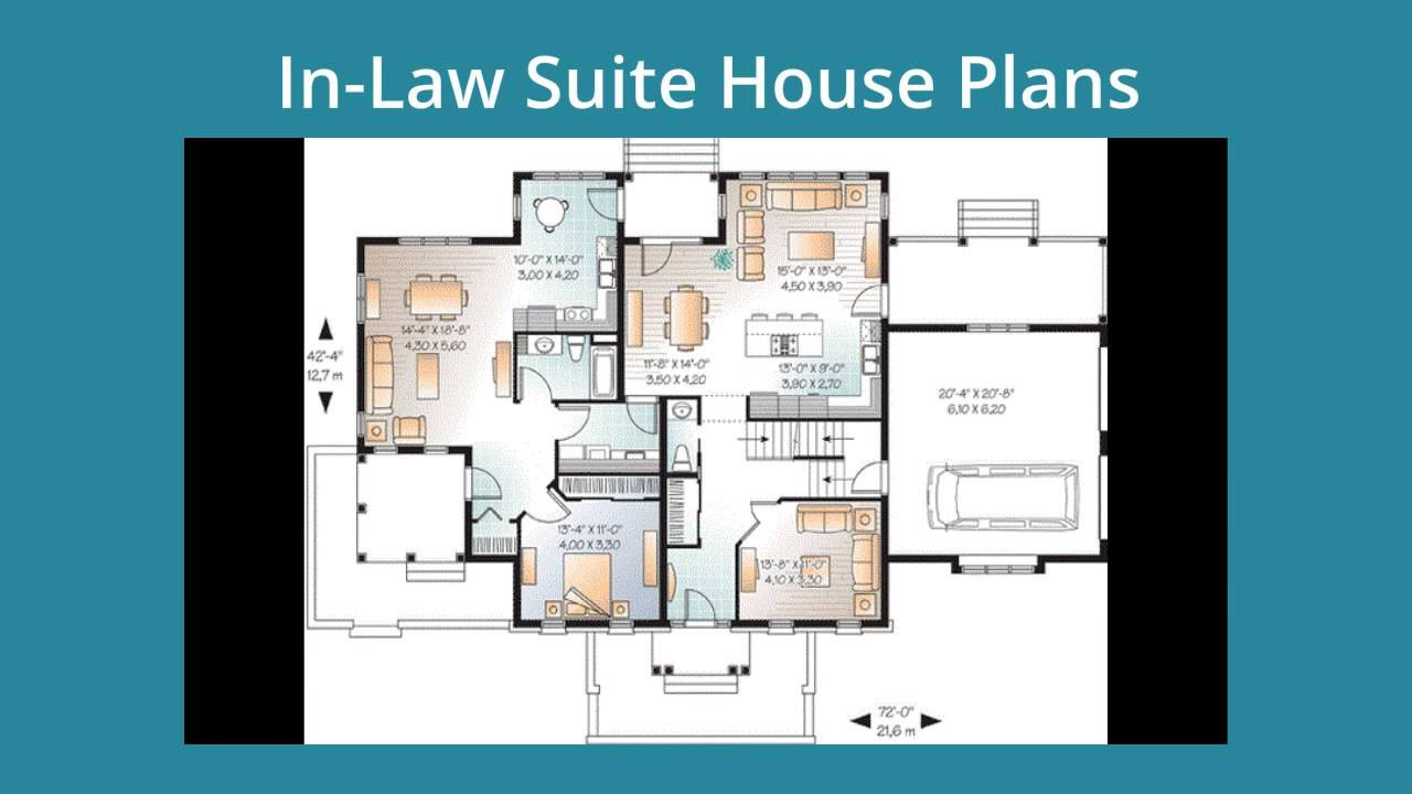 Modern House Plans Inlaw Suite
