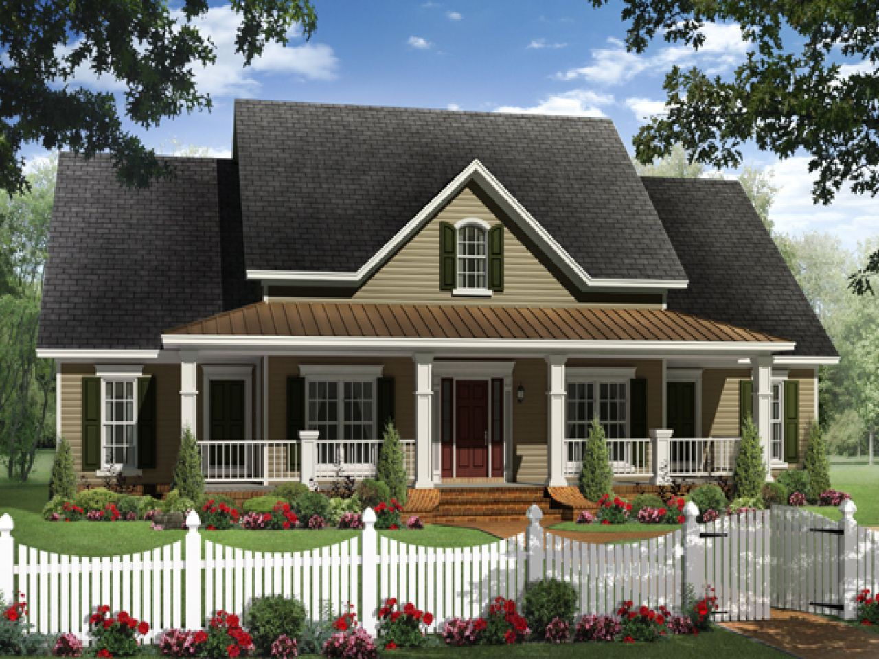 Most Popular Ranch Style House Plans