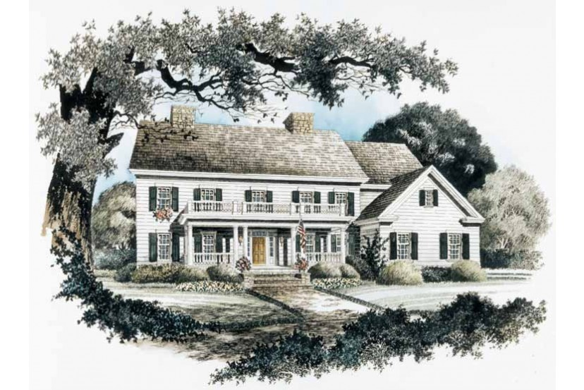 Old Fashioned Country Splendor Hwbdo Neoclassical