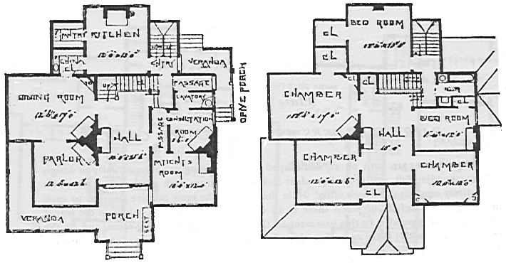 Old House Plans Home Office