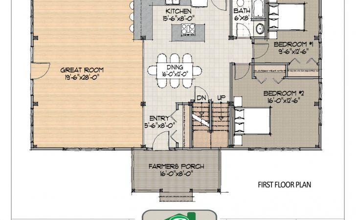 Open Concept House Plans Ranch Style Home