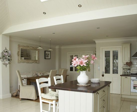 Open Plan Neutral Kitchen Diners Housetohome