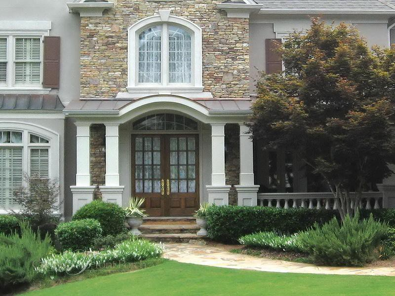 Outdoor Classic Front Porch Designs Tips Build