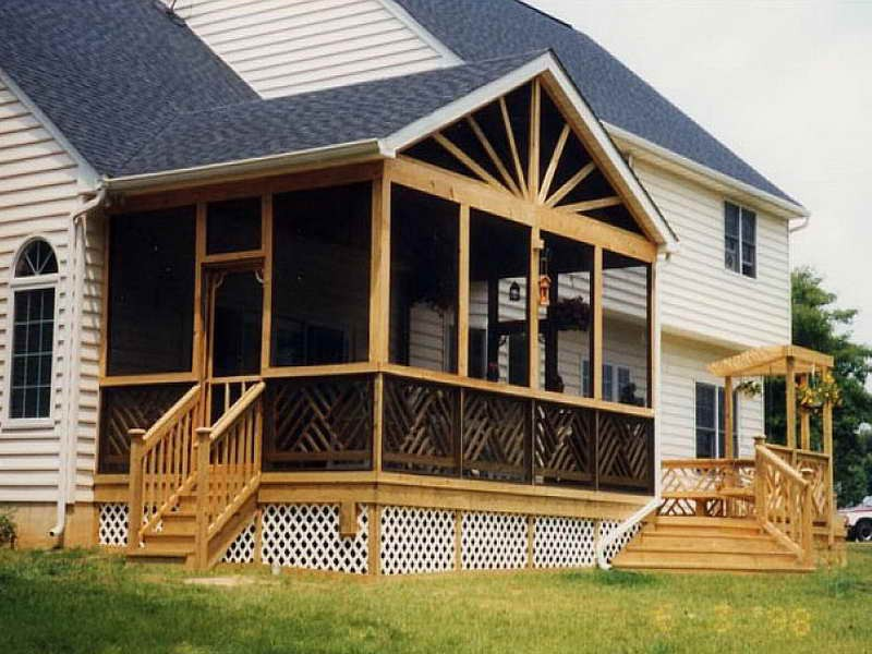 Outdoor Screened Porch Plans Ideas Living Room