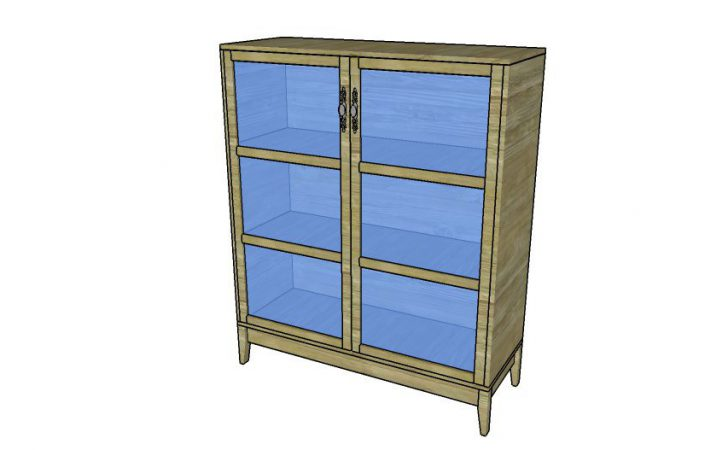 Pantry Cabinet Plans Howtospecialist Build