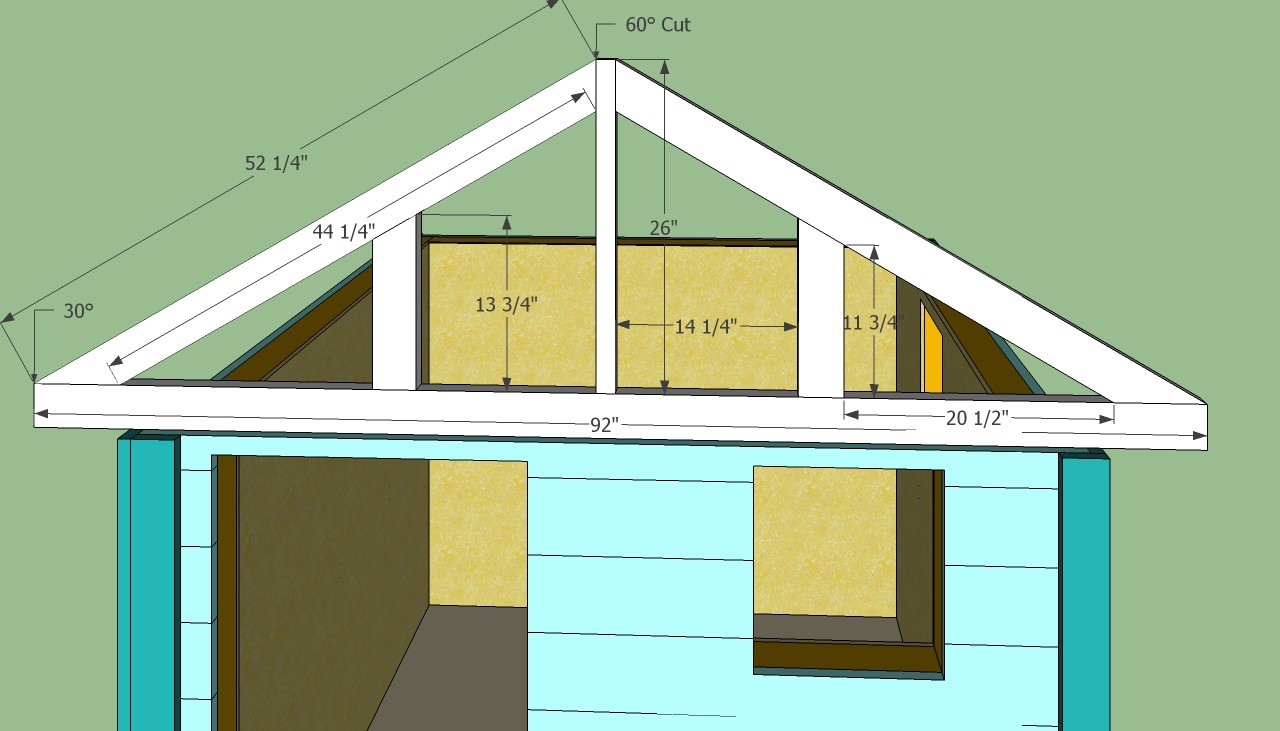Playhouse Shed Plans