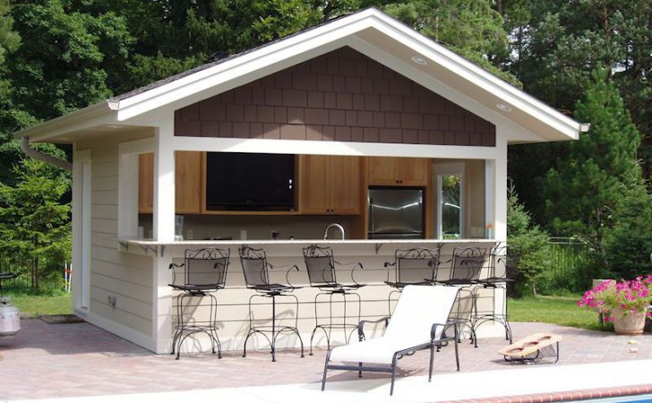 Pool House Plans Garage Decorating Mag