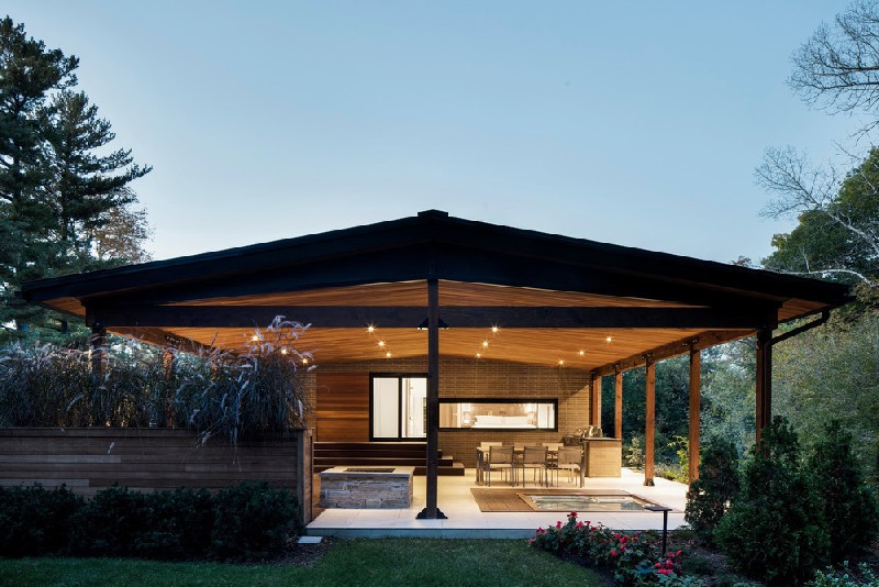 Prairie Style Architecture Details Define Home Remodeling