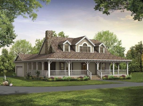 Ranch Style House Wrap Around Porch Write Teens