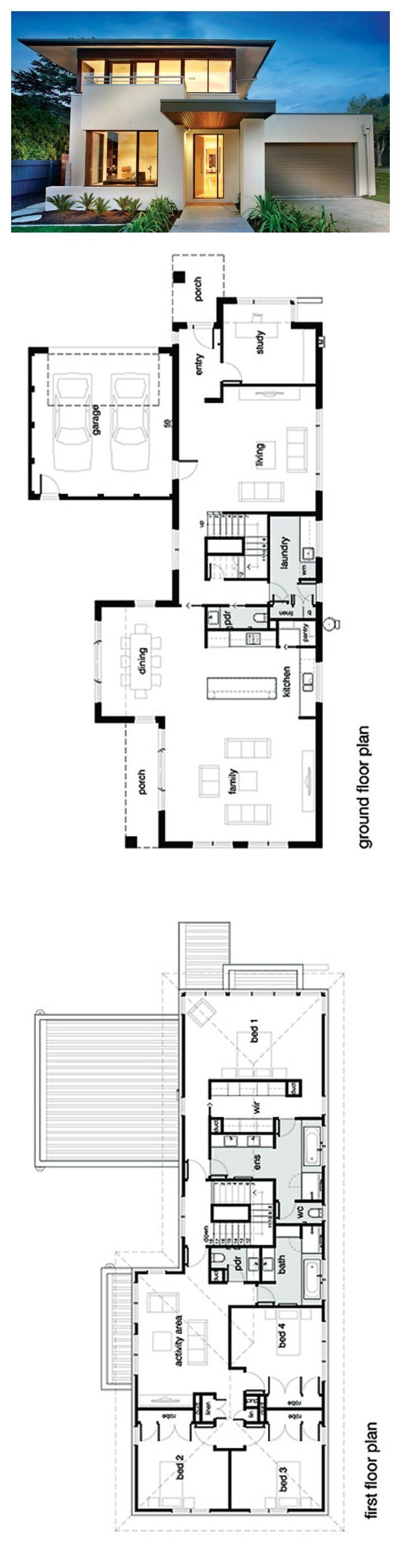 Real Estate Investing Bathroom Modern Double Story House