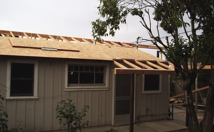 Remodeling Features New Roof Line Old Cottage
