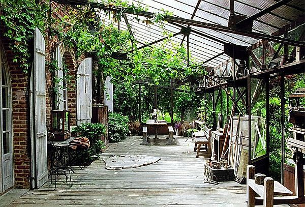 Rustic French Country House