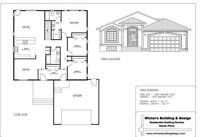 Sample Drawing Set Complete Package House Designs