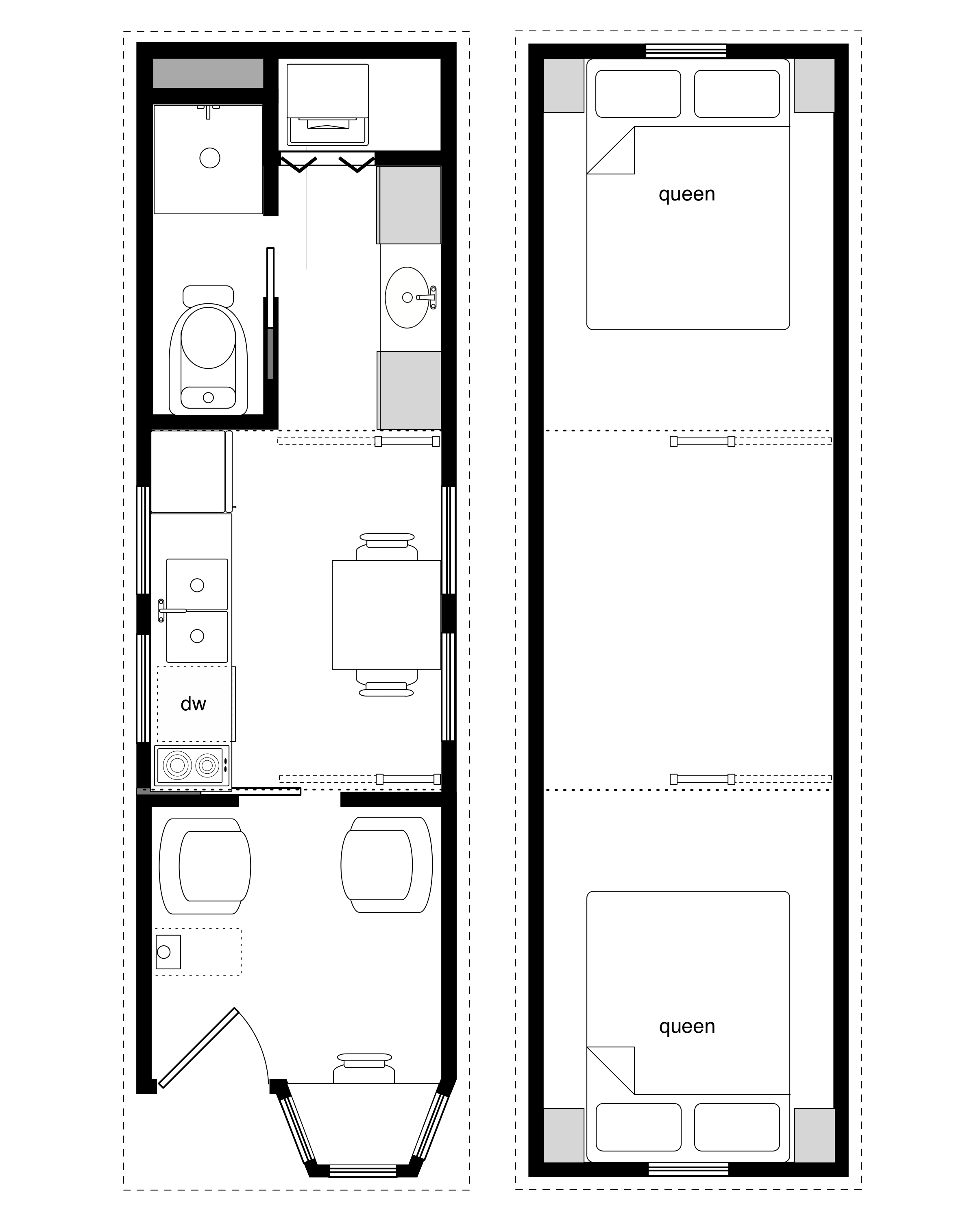 Sample Floor Plans Coastal Cottage Tiny