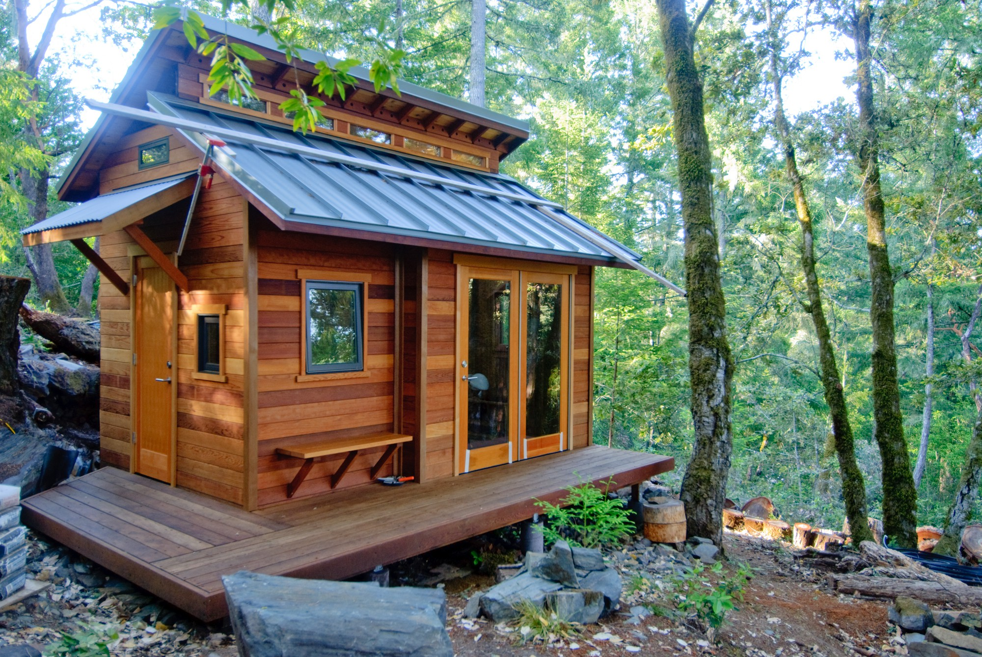 Serenity Now Tiny House Forest Hill Small