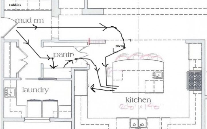 Shaped Kitchen Floor Plans Small House