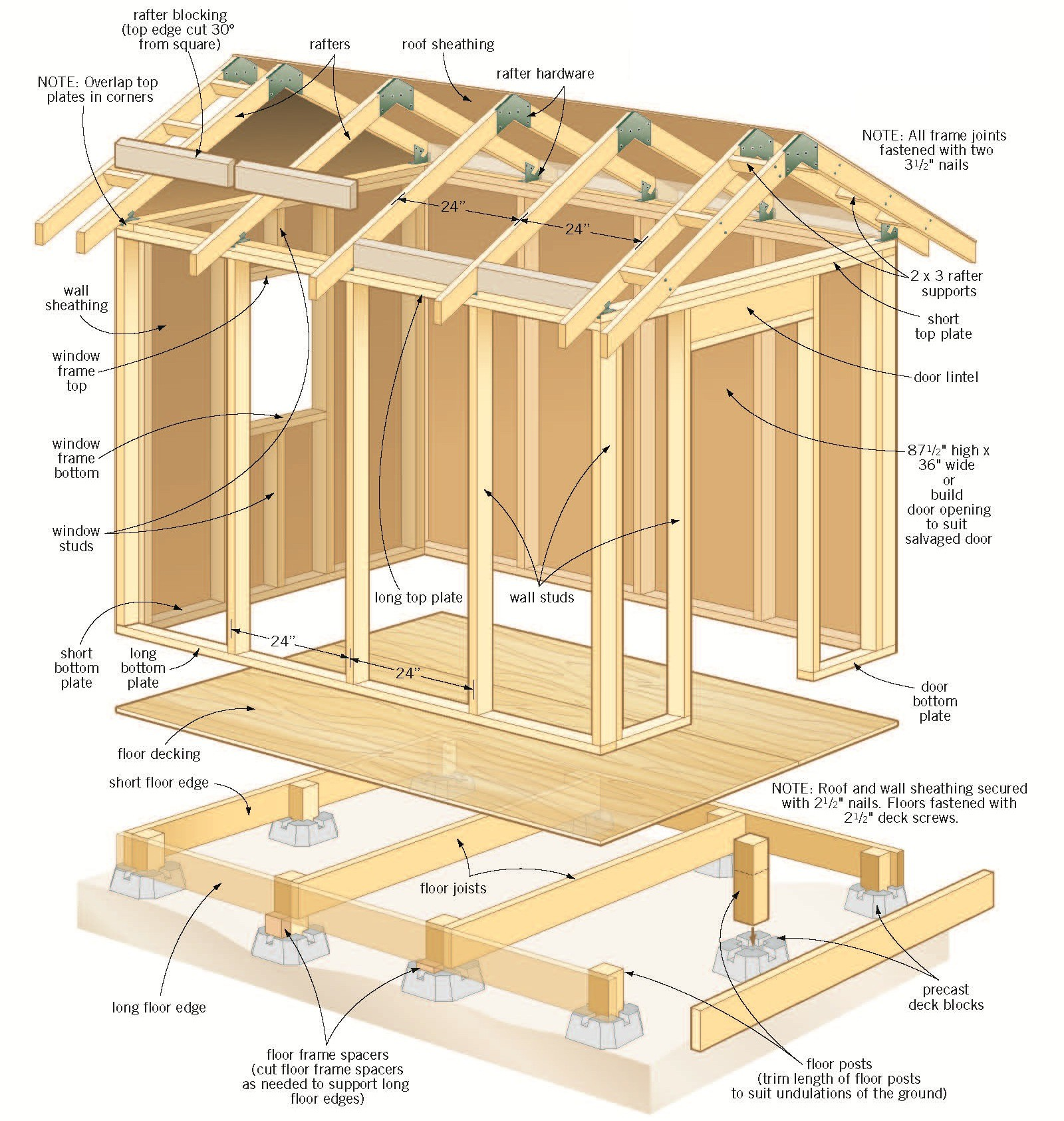 Shed Plans Vipsimple Firewood