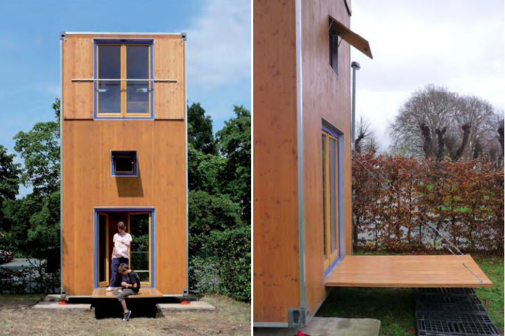 Shipping Container Inspired Homebox Tiny Movable