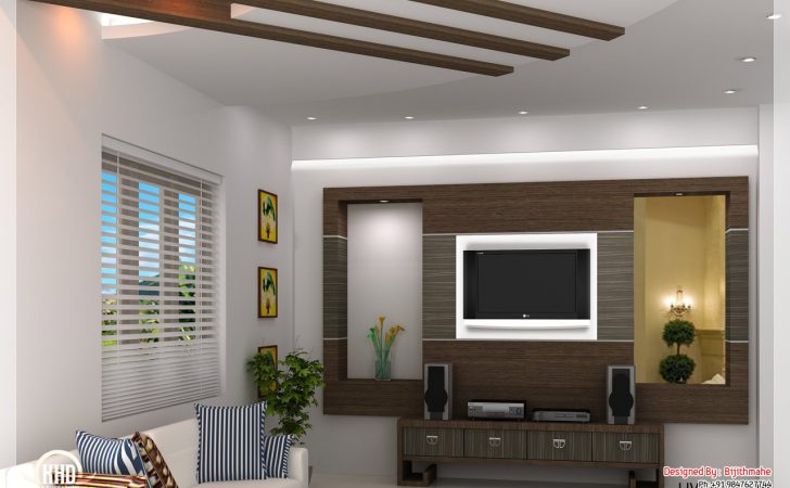 Simple Hall Designs Indian Homes Style Home Plan