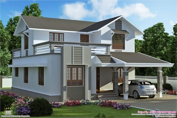 Simple Two Storey House Design Philippines Fashion