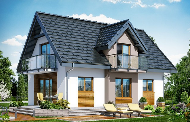 Small Attic House Plans