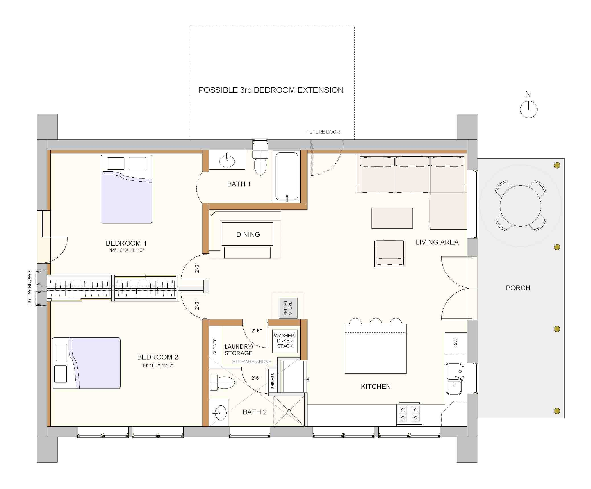 Small Efficient House Plans Cool