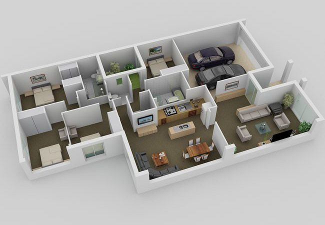 Small House Plan All