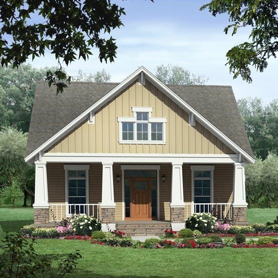 Small House Plans Craftsman Cottage