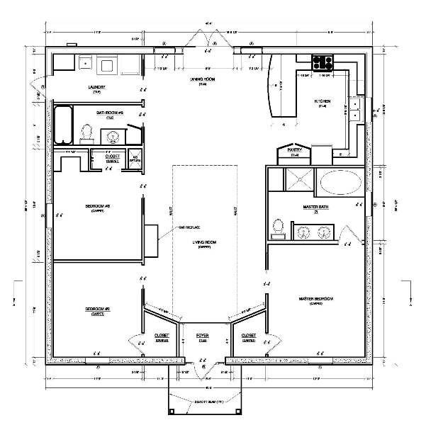Small House Plans Should Maximize Space Have Low