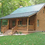 Small Log Cabin Kit Plans Design Nice