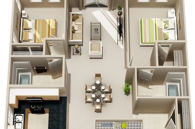 Small Two Bedroom Bath House Plans Myideasbedroom