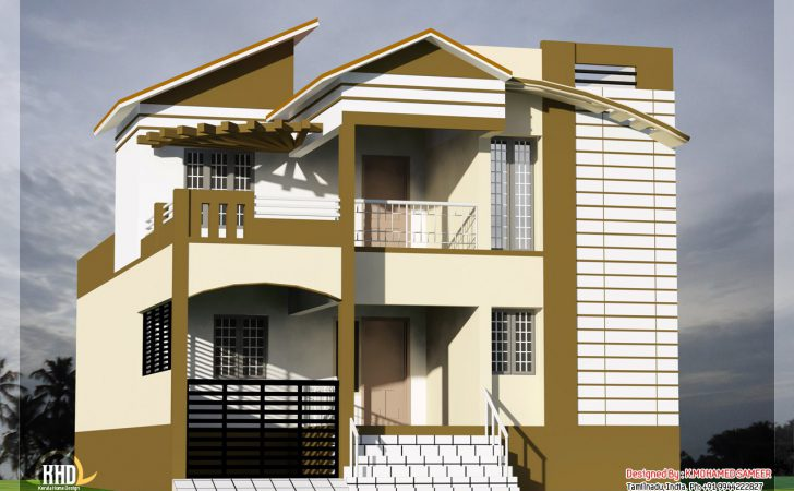 South Indian House Front Elevation Omahdesigns