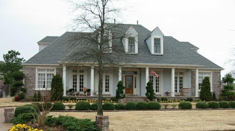 Southern Country Estate House Plans Design