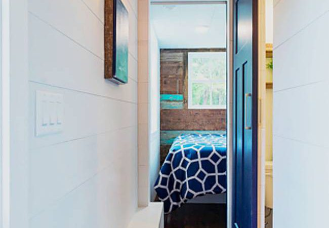 Spacious Two Bedroom Tiny House Fit Small